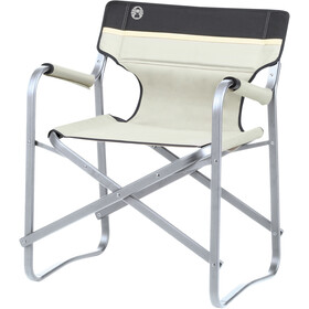 Coleman Deck Chair, red/white